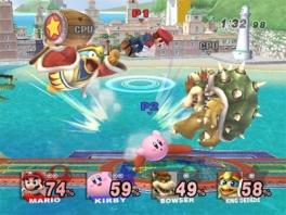 De game werkt nog steeds hetzelfde als <a href = https://www.mariocube.nl/GameCube_Spelinfo.php?Nintendo=Super_Smash_Bros_Melee>Super Smash Bros Melee</a>.