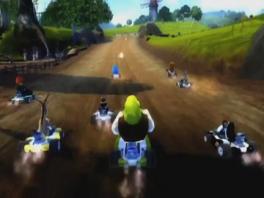 Race met je favoriete DreamWorks personages, zoals Alex, Shrek en nog veel meer!!!