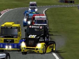 Speel als allerlei trucks van verschillende merken!