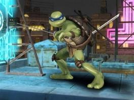 Donatello kan altijd rekenen op zijn twee ninjazwaarden. Kom maar op!