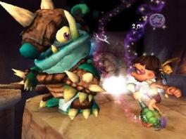 Vecht tegen gigantische, vreemd uitziende monsters!
