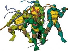 Speel als Donatello, Leonardo, Michelangelo of Raphael! Nee, niet de schilders uit de Renaissance...