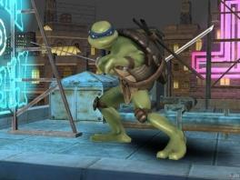 Leonardo staat altijd zijn mannetje met zijn Ninjaken