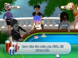 Poker is grotendeels bluffen. Soms kan je met de slechtste hand winnen!