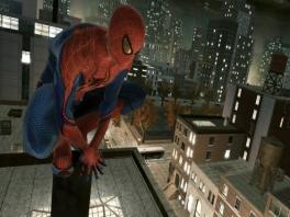 Speel als <a href = https://www.mariowii.nl/wii_zoeken.php?search=spider-man>Spider-Man</a>, de super geweldige half spin, half mens held!