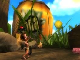 Je speelt als Lucas, een jongetje dat op magische wijze de grootte van een mier heeft gekregen