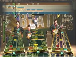 De besturing lijkt erg op die van Guitar Hero.
