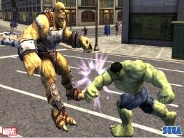 Wie wil nu niet als  The Hulk iemand een dreun verkopen?