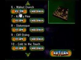 Er zijn een hoop levels die je zowel in Play als in Time mode kunt spelen.