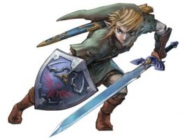 De geweldige held, Link, is ook het hoofdpersonage van deze Legend of Zelda!
