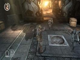De gameplay is net Tomb Raider, maar dan met ninja's en mummies!