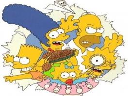 Bart, Lisa, Homer, Marge en Maggie: ze zijn er allemaal bij!