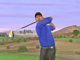 Tiger Woods ontbreekt natuurlijk niet in zijn eigen spel!