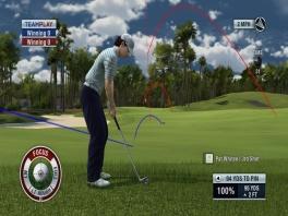 Woods is niet de enige speelbare golfer in deze game.