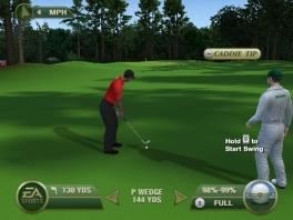 Je caddie geeft je golftips gedurende het spel.