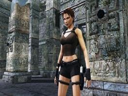Lara Croft, de intelligente en avontuurlijke archeologe in deze game!