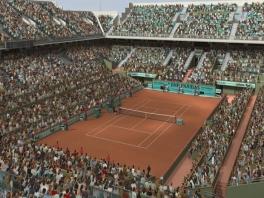 Het hele stadion zit vol om te genieten van jouw tenniskunsten!