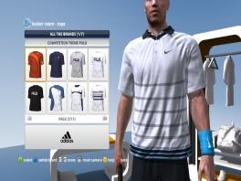Kies je eigen kleding voor de wedstrijd.