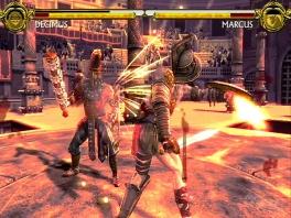 In dit spel vecht je met en tegen helden en goden uit verhalen en mythen.