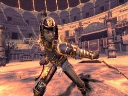 Ook daadwerkelijke historische karakters, zoals Cleopatra, zijn van de partij!
