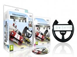 TrackMania wordt in het begin geleverd met een stuurtje.