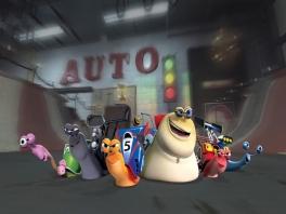 Speel als Turbo of een van zijn 'snelle' vrienden.