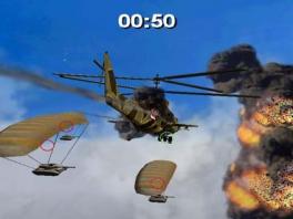 Tanks aan een parachute uitschakelen binnen 50 seconden? Eitje.
