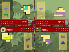 Je kan met 4 spelers tegelijk spelen in de multiplayer modus.