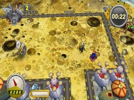 Er is ook een leuke 2 speler multiplayer mode.