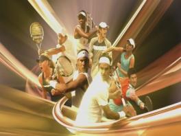In VT:09 kan je met heel veel beroemde tennissers spelen.