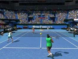 Speel realistisch tennis met de Wii <a href = https://www.mariowii.nl/wii_spel_info.php?Nintendo=Motion_Plus>motion plus</a>.