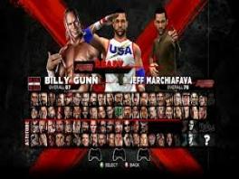 Je kan kiezen uit heel veel helden, bijvoorbeeld John Cena.