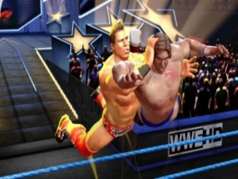 Ook dit worstelspel bevat geweldige worstelmoves.