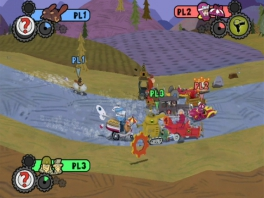 Wacky Races Crash and Dash: Screenshot
