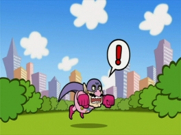 En toen realiseerde Wario-man zich ineens dat hij helemaal niet KAN vliegen...