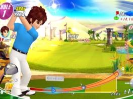 Speel in een golf-oase midden in de woestijn.