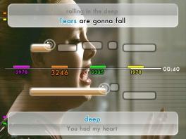 We Sing Pop: Screenshot