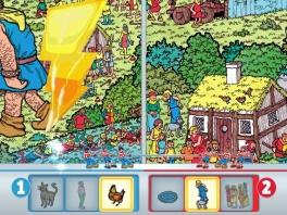 Het mag duidelijk zijn waar de game om draait: het zoeken (en hopelijk vinden) van Wally!