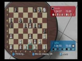 Wii chess is niet veel meer dan schaken op de wii.