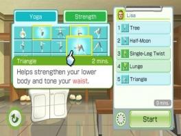 My Wii Fit Plus routine is heel erg handig als je regelmatig bepaalde spieren wil trainen.