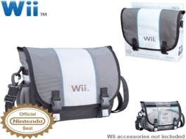 Net als de <a href = https://www.mariocube.nl>GameCube</a> heeft de Wii ook een eigen draagtas gekregen.