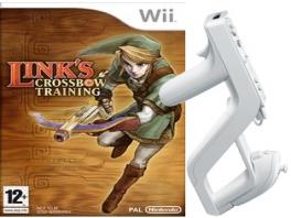 Onder andere Link&rsquo;s <a href = https://www.mariowii.nl/wii_spel_info.php?Nintendo=Links_Crossbow_Training>Crossbow Training</a> kun je spelen met de Wii Zapper.
