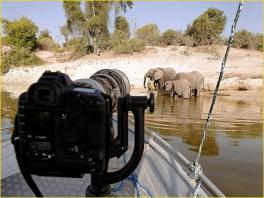 Kruip zelf achter de camera!
