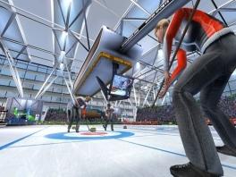 Daarna kun je een ontspannend potje curling spelen.