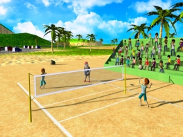 Speel Beach Volleyball of Golf, Voetbal, Tennis, Honkball en  Rugby.