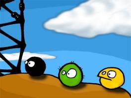 Dit zijn de Goo Balls. Elk met hun eigen voor- en nadelen.