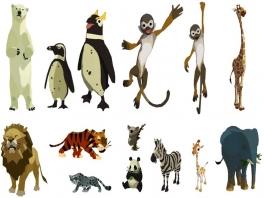 In World of Zoo zijn maar liefst 95 verschillende soorten dieren te verzorgen!