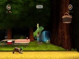 In Yogi Bear heb je de edele taak om te zoeken naar dieren, stukken taart en... picknickmanden!