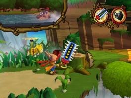 Een mega zaag, een helicopter aap en een piraat: perfecte combi