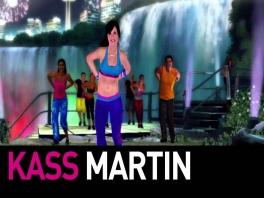 Speel met Kass Martin, een sexy <a href = https://www.mariowii.nl/wii_spel_info.php?Nintendo=Zumba_Fitness>Zumba</a> Instructor.